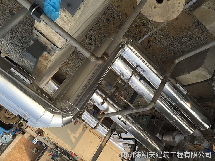 CNG/LNG加气站管道保温工程施工